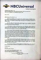 NBCUniversal环球影视验厂认证冰箱贴厂家